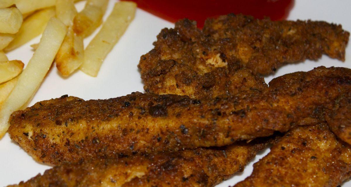 Filets de poulet panés style KFC