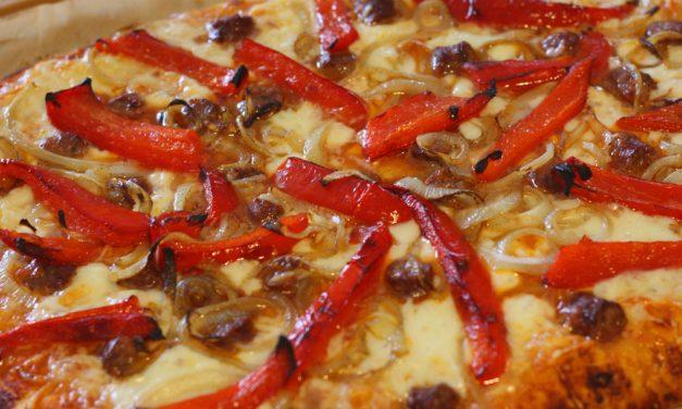 Pizza Orientale et Pizza Reine