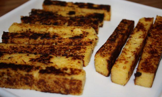 Bâtonnet de polenta