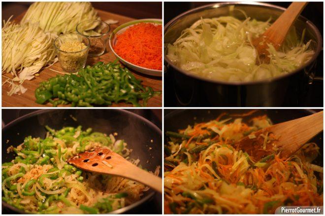 recette du achard de légume réunionnais
