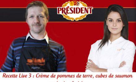 Ce soir, je cuisine en live avec Tabata de Top Chef