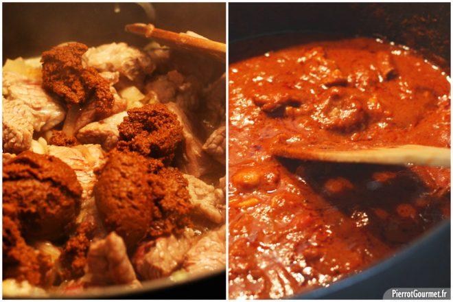 recette curry d'agneau
