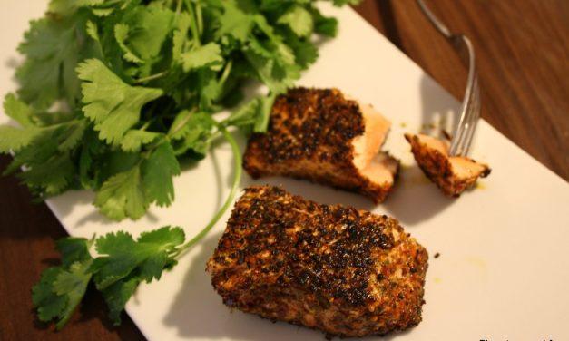 Pavé de saumon mode «Cajun»