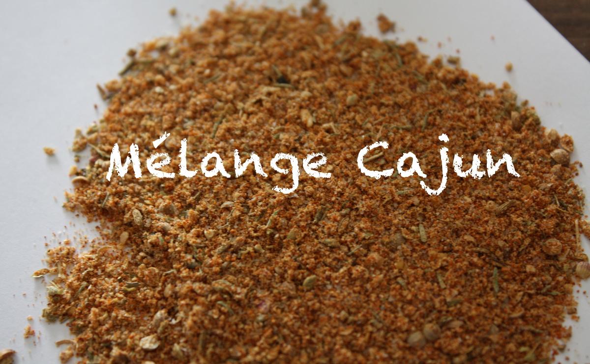 Mélange d'épice Cajun